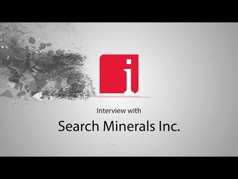 Lifton with Greg Andrews on Search Minerals' rare earths pilot plant