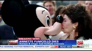 Legendary Mouseketeer Funicello dies