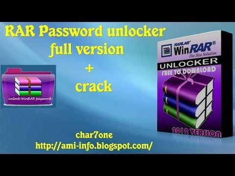 Free Crack For Rar Password Unlocker 2018