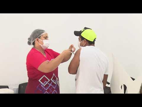 Vacinação contra Covid-19 para pessoas de 58 e 59 anos será neste sábado em Guarantã do Norte
