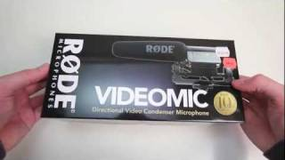 Rode Video Mic Unboxing thumbnail