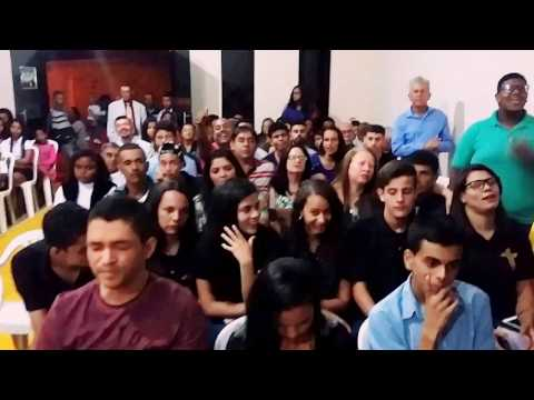 3 em 1 Cristo na igreja assembleia de Deus Saron em Angelândia MG