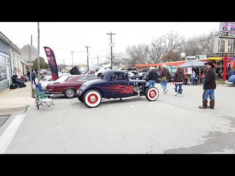 Lockhart Texas Hot rods and Hatters 2018 part 2