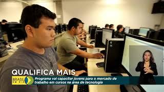 Programa capacita jovens para o mercado de trabalho de tecnologia