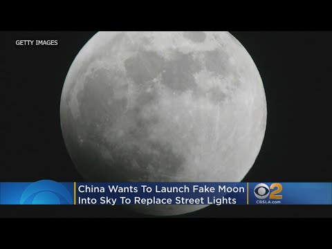 China To Launch World's First Artificial Moon