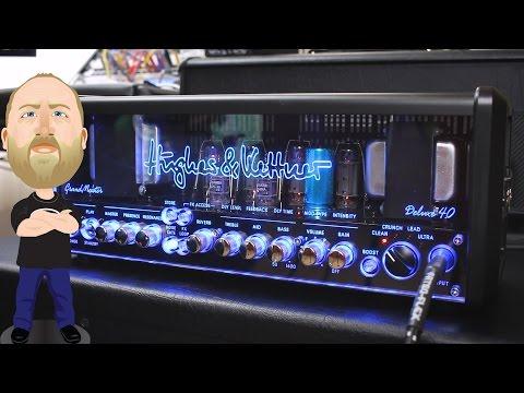 HUGHES & KETTNER GrandMeister Deluxe 40 Kytarový lampový zesilovač