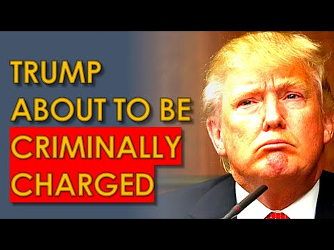 Trump will be CRIMINALLY CHARGED in New York: Report
