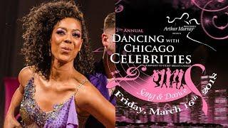 Karen Jordan at Dancing with Chicago Celebrities 2018