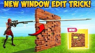 *EPIC* SMALL WINDOW EDIT TRICK! - Fortnite Funny Fails and WTF Moments! #372