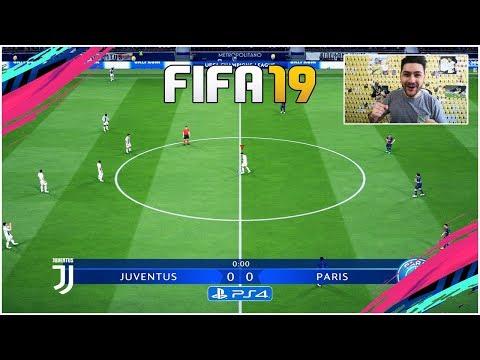 FIFA 19 FULL GAMEPLAY CHAMPIONS LEAGUE – JUVENTUS vs PSG !!! AMAZING GOALS !!!