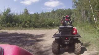 trail riding in mn, paul bunyan 9-3-16