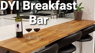 DYI Breakfast Bar Or Kitchen Benchtop Extension