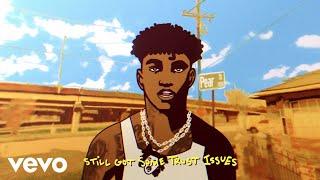Fredo Bang - Trust Issues (Animated Lyric Video)