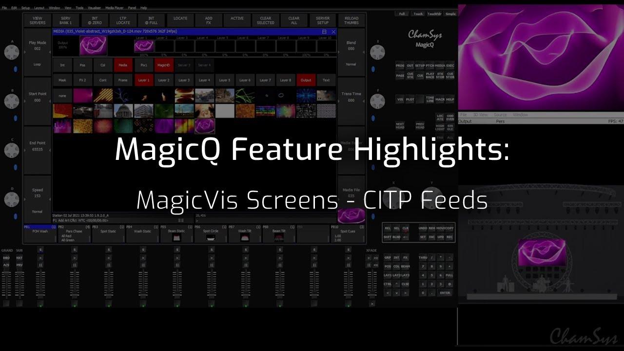 MagicVis Screens - CITP