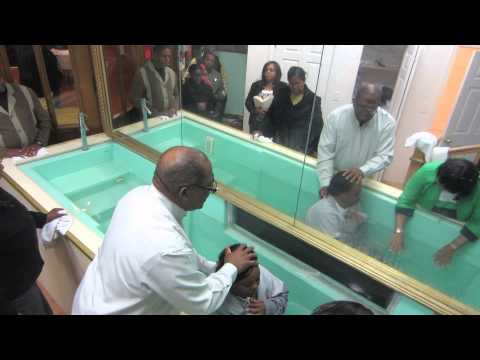 Water Baptism in the Name of JESUS 11/15/14 – Salvation Apostolic Temple Church