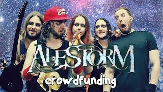 ALESTORM CROWDFUNDING STARTS NO GRAVE BUT THE SEA FOR DOGS AVAILABLE TO PREORDER NOW