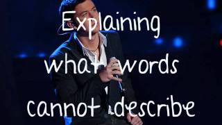 Scotty McCreery I love you this big with lyrics!
