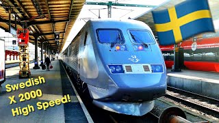 Swedish Railways' X2000 Express train - BEST VALUE in Europe?
