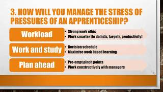 Top 5 Apprenticeship Interview Questions and Answers