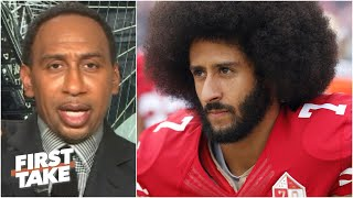 First Take reacts to Joe Lockhart saying it's time for an NFL team to sign Colin Kaepernick