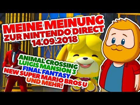 Meine Meinung: Nintendo Direct, ANIMAL CROSSING, Luigis Mansion 3 und Nintendo Online! (видео)