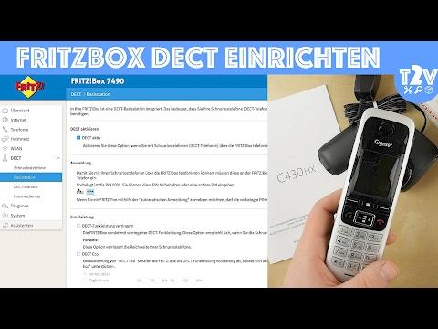 DECT Telefon an Fritzbox anmelden - So geht's! Gigaset C430HX