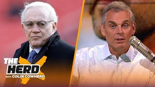 Jerry Jones needs to 'stop living in the 90s,' Colin claims system QBs are superior | NFL | THE HERD