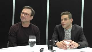 NYCC 2015: Mr. Robot - Christian Slater, Rami Malek -- Get Ready for Season 2