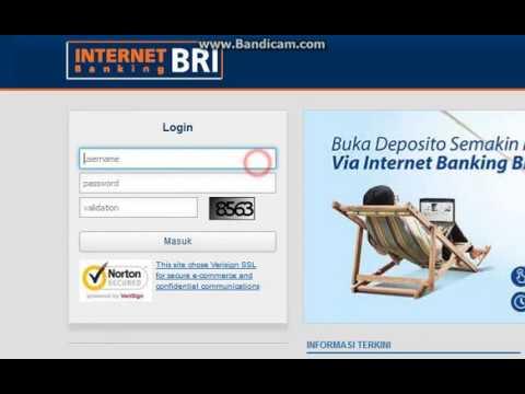 Cara Cetak Ulang transaksi Internet banking Bri