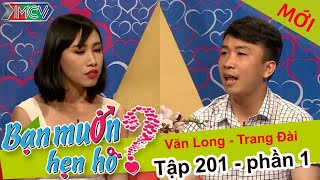 Cracked up with girl confessed love to a boy in Hong Kong accent | Van Long - Trang Dai | BMHH 201