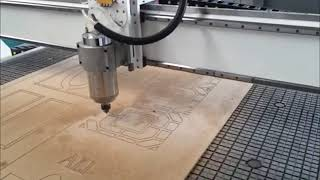 China 4x8 table size woodworking cnc router machine youtube video