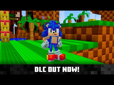 《Minecraft》推出「音速小子x麥塊」DLC,歡慶索尼克30週年