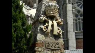 preview picture of video 'Barcellona: La Sagrada Familia - Il capolavoro di Antonio Gaudì'