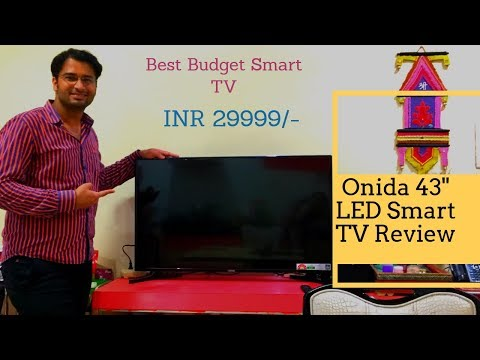 Onida 43 inch Smart TV Review | Techno Indian | Hindi Review