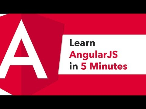 Learn AngularJS in 5 Minutes