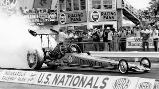 Shirley Muldowney wins first U.S. Nationals title in 1982