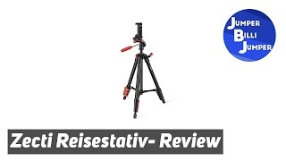 Zecti leichtes & günstiges Reisestativ review (Smartphone, Gopro, Camcorder)