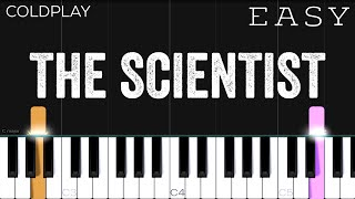 Coldplay - The Scientist | EASY Piano Tutorial