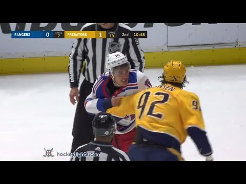 Ryan Johansen vs. Brady Skjei