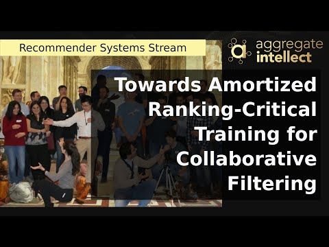 Towards Amortized Ranking-Critical Training for Collaborative Filtering