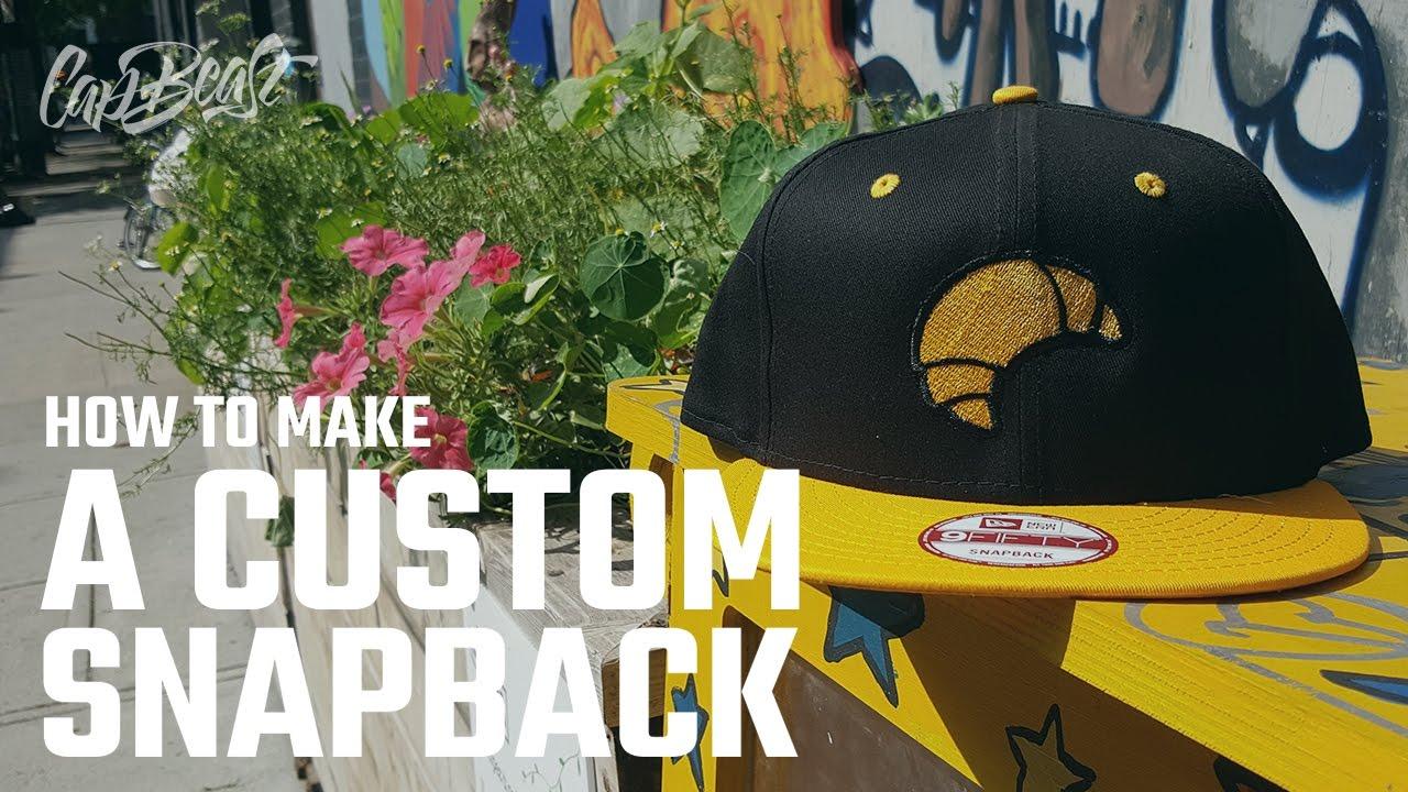 How to make a custom snapback / custom hats / InfiniTube