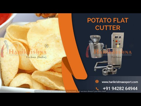Potato Chips Slicer Machine