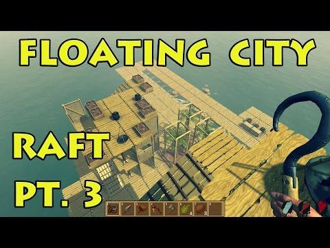 Społeczność Steam :: Film :: Floating City & Stronger Shark! - Raft