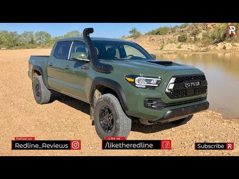 The 2020 Toyota Tacoma TRD Pro is an Updated Off-Road Ready Truck