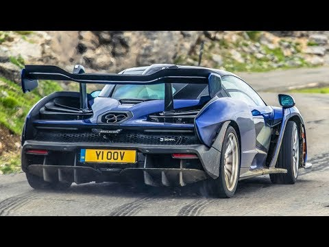 McLaren Senna 1500-Mile Road Trip | Top Gear