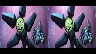 VR video cardboard - Big Hero 6   Robot Fight [3D Side By Side]