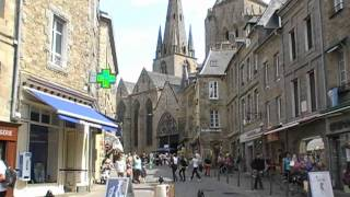 preview picture of video '22200 Guingamp, Côtes d'Armor, Brittany, France 9th July 2009'