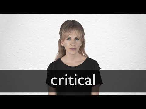 "Hindi Translation of ""critical"" | Collins English-Hindi Dictionary"