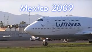 preview picture of video 'Despegues Aeropuerto México D.F/ Take offs Mexico City Airport'