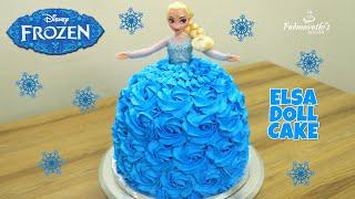 Elsa Doll Cake | Frozen Cake | Whipped Cream Frosting